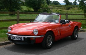 Triumph Spitfire 1500 with Hardtop