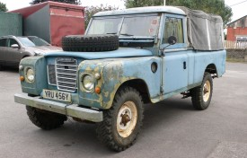 Land Rover Series III LWB Pick-Up and Trailer