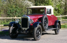 1927 Austin 20/4 Two Seat Tourer with Dickey by Mulliners