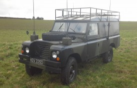 1966 Land Rover 109 inch Ex. Military
