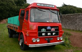 ERF LAG 160 011 Flatbed Lorry