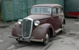 1939 Wolseley 10 Series III Saloon