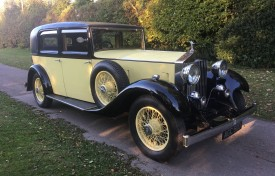 1933 Rolls-Royce 20/25 Four Light Limousine by Park Ward