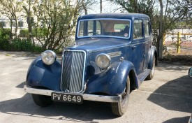 1940 Armstrong-Siddeley 16hp Six-Light Saloon