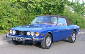 Triumph Stag with Hardtop