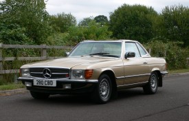 Mercedes-Benz 280SL with Hardtop