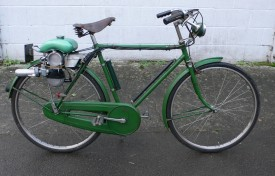 c.1953 Raleigh Superbe Sports Tourist fitted with a 49cc Power Pak Bicycle Motor