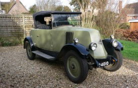 1927 Renault NN 2 Door Coupe with Dickey Seat