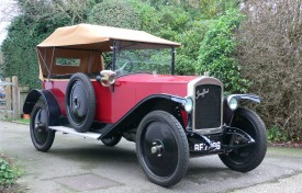 1921 Jouffret Four Seater Tourer
