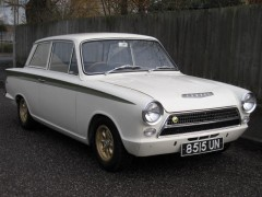 The 1963 Ford Cortina Lotus Mk I, which sold for a world record price of £46750 at Dorset Vintage and Classic Auctions' Spring 2012 Auction
