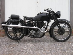 An AJS 38/18 500cc Restoration Project which sold for £5610 at Dorset Vintage and Classic Auctions' March 2012 Sale
